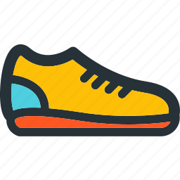 fitness, footwear, gym, run, running, shoe icon