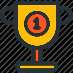 award, fitness, prize, shape, trophy, winner icon