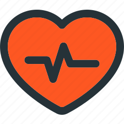 bit, fitness, health, heart, love, strong icon