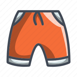 clothes, clothing, fabric, shorts, sport icon
