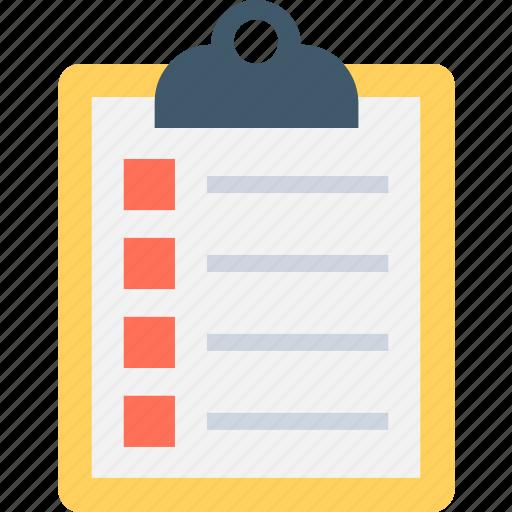 checklist, diet plan, list, task, to do icon