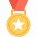 winner, medal, prize, award, reward