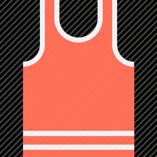 clothes, clothing, sports vest, sportswear, vest icon