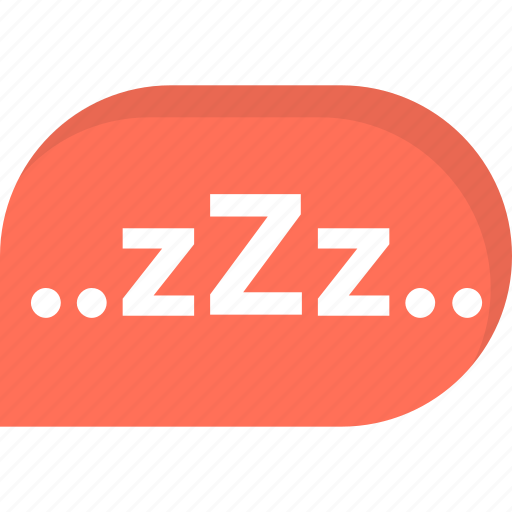 Resting, dream, zzz, sleep, night icon