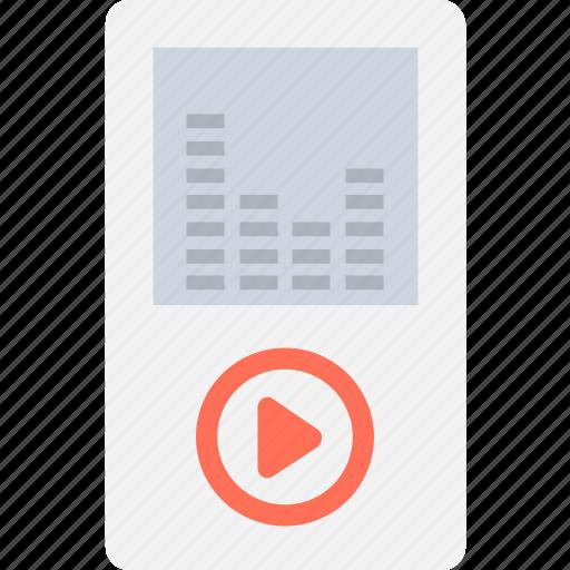 ipod, mp4, music, music player, walkman icon