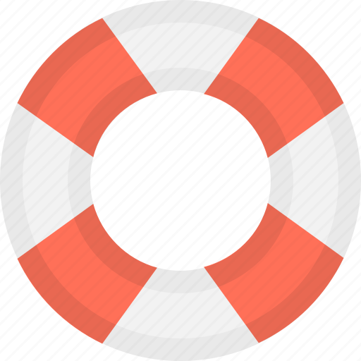 life belt, life buoy, lifering, safety, support icon