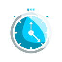 cronometer, science, experiment, research icon