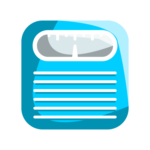 fitness, measure, monitor, scale, weighing icon