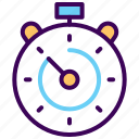 clock, fitness, lap, schedule, stopwatch, time icon
