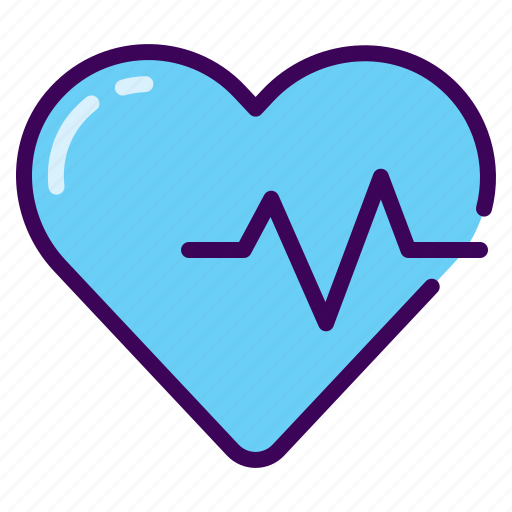 beat, fitness, healthy, heart rate, pulse icon
