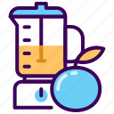 fitness, fresh, healthy, juice, orange icon