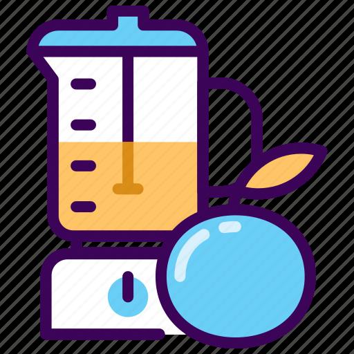 fitness, fresh, healthy, juice, orange icon