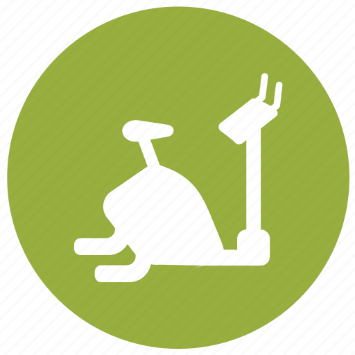 cycle ergometer, exercise, exercise bicycle, exercise bike, fitness, gym, workout icon