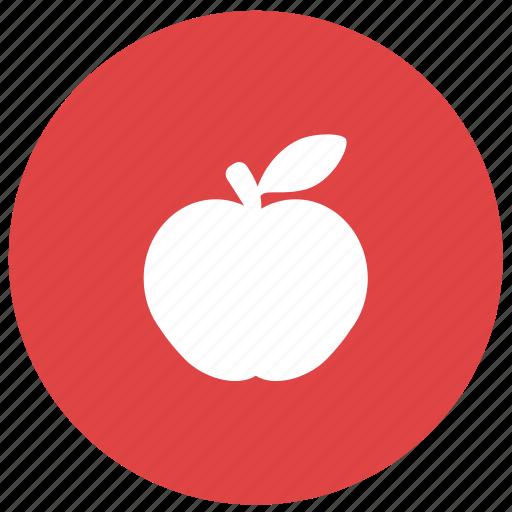 apple, fitness, food, fruit, healthy food icon