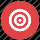 aim, bullseye, fitness, target icon