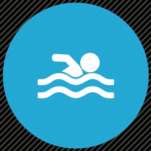 exercise, fitness, sport, swim, swimming icon