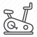 bicycle, bike, equipment, exercise, fitness, stationary icon