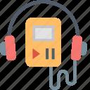 walkman, headphones, ipod, listen, mp3, music, player icon