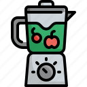 blender, diet, fitness, fresh, fruit, kitchen, vegetable icon