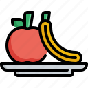exercise, fitness, fruit, gym, health, healthy, workouts icon