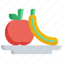 apple, fitness, fruit, health, healthy, vegetable icon