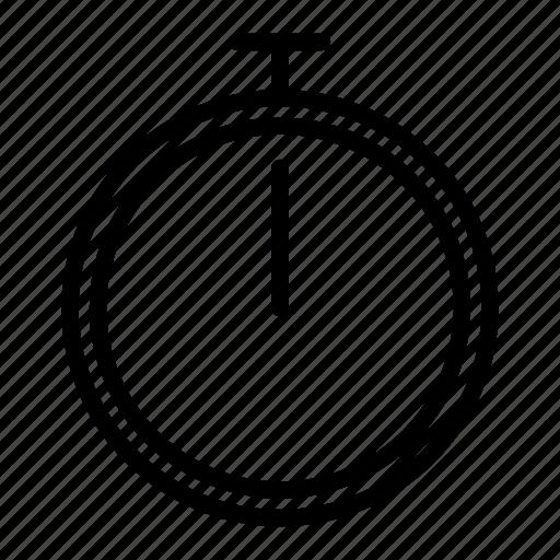 analog, body, gym, health, sport, stopp, watch icon