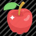 fruit, healthy diet, apple, edible, healthy food icon