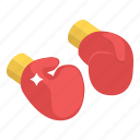 boxing gloves, gloves, hand covering, hand gloves, mitten, muff, punching gloves icon