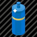bottle, drink bottle, sports bottle, water bottle, water flask icon