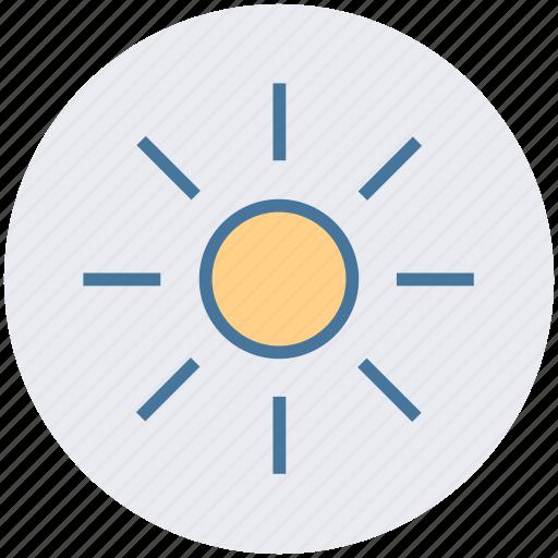 day, health, sun, sunlight, sunny, weather icon