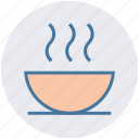 bowl, chinese soup, health, hot, hot food, snack, soup icon