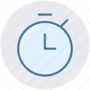 clock, coach, fitness, stopwatch, time, timer, watch icon