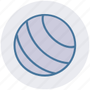 aerobics, ball, exercise, fitness, health, sport, workout icon