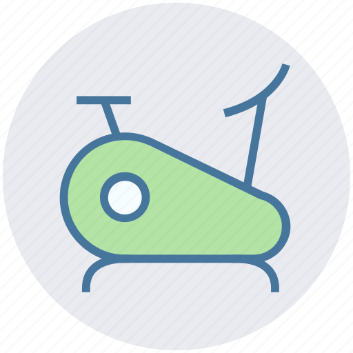 bicycle, exercise, fitness, gym, health, run icon