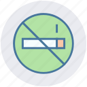 ban, cigarette, forbidden, no smoking, tobacco, warning icon