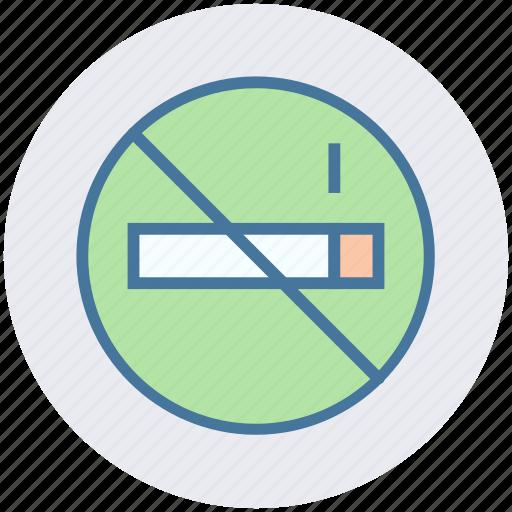 ban, cigarette, forbidden, no smoking, tobacco, warning icon