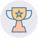 award, fitness, prize, reward, star, trophy, winner icon