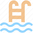 diving, fitness, health, pool, sports, swimming, swimming pool, water icon