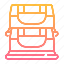 bars, equipment, fitness, gym, sport, workout icon