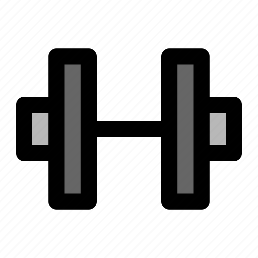 barbell, dumbbell, excercise icon