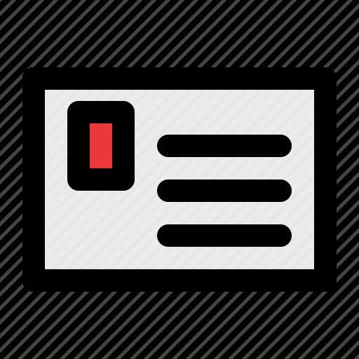card, member, qr icon