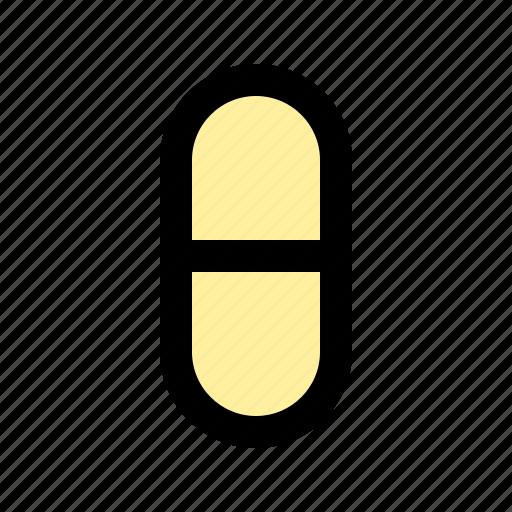 capsule, supplement, vitamins icon