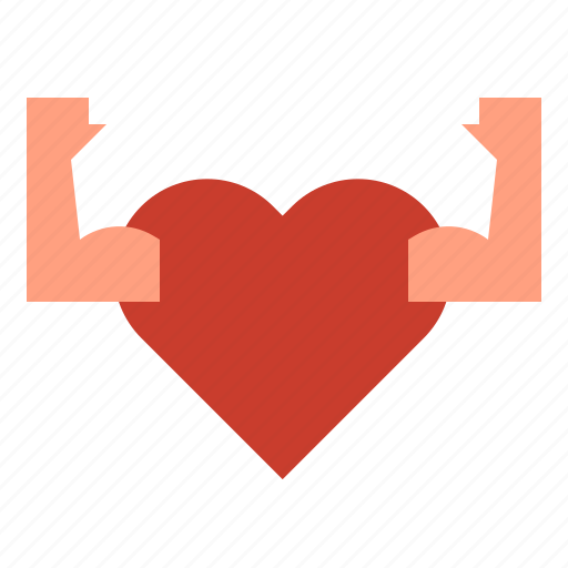 Fitness, heart, muscle icon - Download on Iconfinder