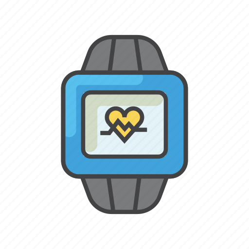 exercise, fitness, health, iwatch, technology, watch, wearable icon