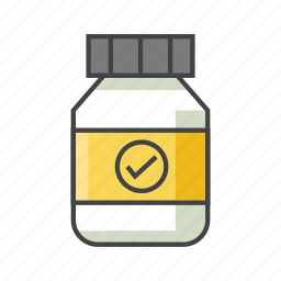bottle, container, energy, food, gainer, nutrition, supplement icon