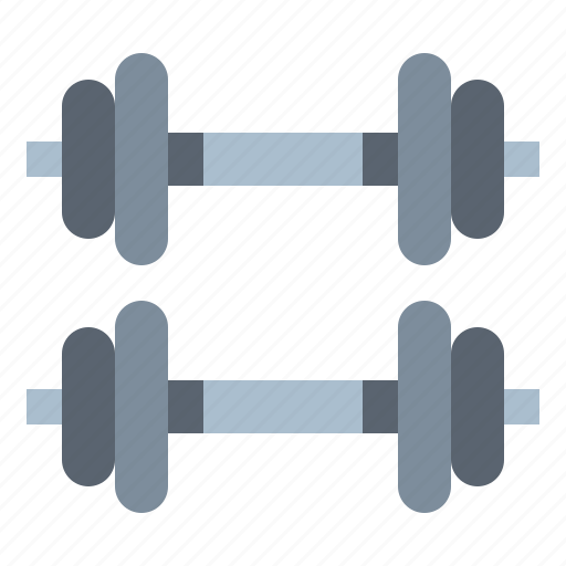 dumbbell, exercise, sport, weightlifting icon