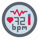 cardiogram, heart, pulse, rate, sports icon