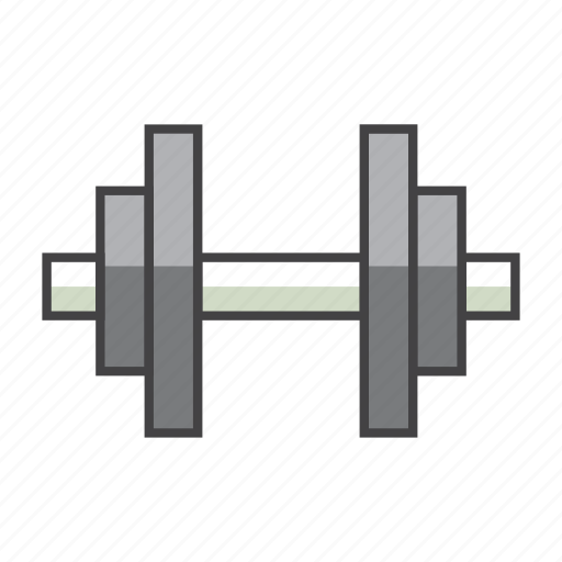 barbell, dumbbell, fitness, gym, tool, weight lifting icon