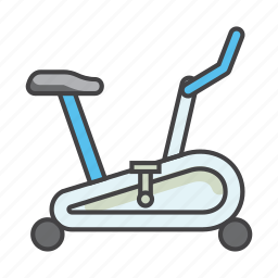 biking, cycle, cycling, exercise, fitness, gym, tools icon