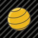 ball, equipment, exercise, fitness, gym, gym ball, pilates